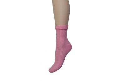 Kabartma Desen Kıvrık Çorap